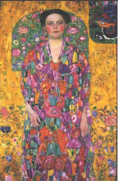 Gustav Klimt, Portrait of Eugenia Primaesi