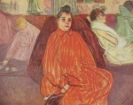 The Divan, Toulouse Lautrec