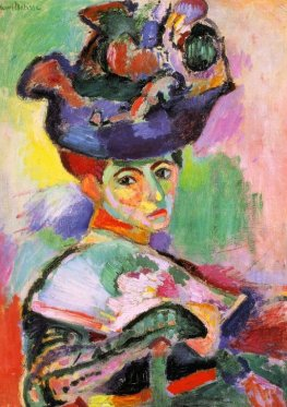 Woman with a Hat, Henri Matisse