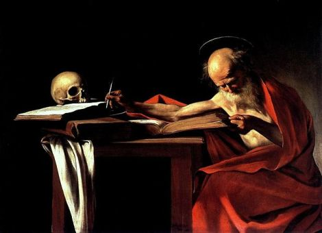 St. Jerome by Caravaggio