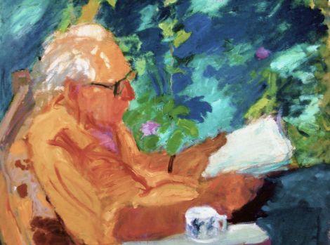 Yehuda reading, Galya Tarmu