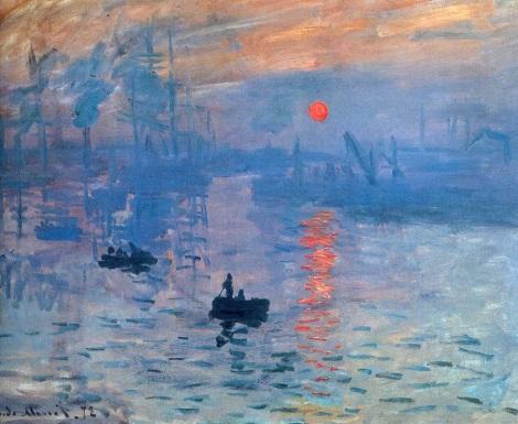 Sunrise, Claude Monet, 1874